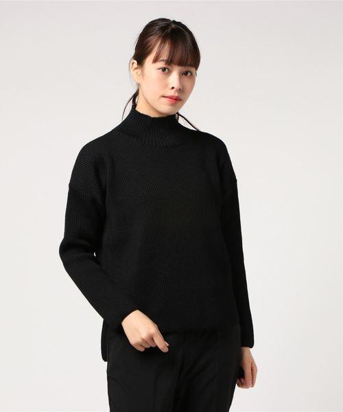 超人気高品質 HIGH NECK SLIT SWEATER 8GG AZE(ニット/セーター)|Vincent ET SWEATER et VINCENT Mireille(バンソンエミレイユ)のファッション通販, 部品堂:dd4f2aaf --- bebdimoramungia.it