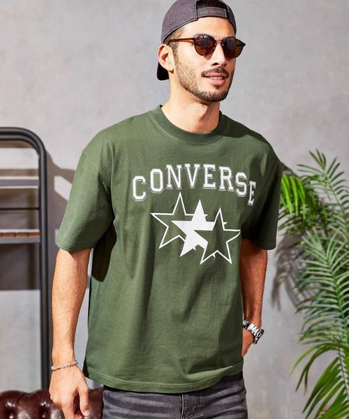 CONVERSE/コンバース 【BARK MANHATTAN別注】スターロゴオーバーサイズ半袖Tシャツ