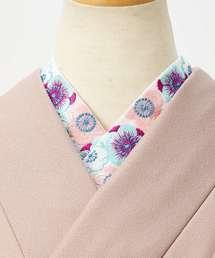 着物(キモノ)の「刺繍半衿「梅ちょう」(和装小物)」