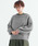 merlot(メルロー)の「パフスリーブニットプルオーバー1867(ニット/セーター)」|グレー