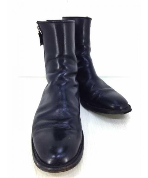 祝開店!大放出セール開催中 【ブランド古着 Dior】サイドダブルジップ レザー レザー ブーツ(ブーツ)|Dior homme(ディオールオム)のファッション通販 - USED, 鎌田屋:25648308 --- altix.com.uy