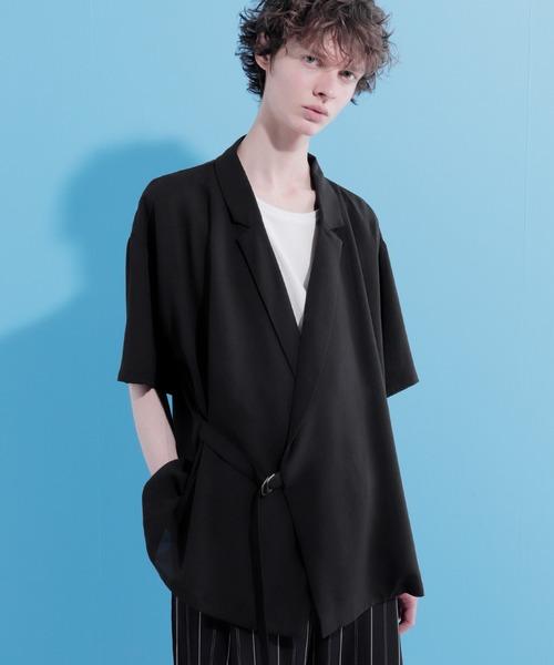 タイロッケンサマーシャツジャケット(1/2 short sleeve)