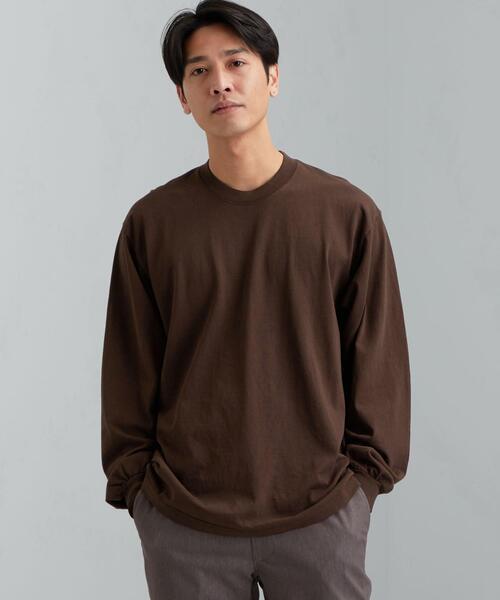 別注 [ ロサンゼルスアパレル ] LOS ANGELES APPAREL G/D 長袖 Tシャツ