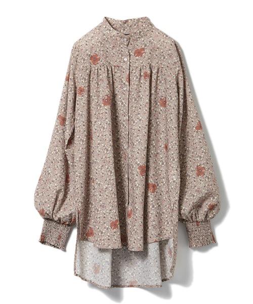 【安田美沙子×DRWCYS】ヴィンテージフラワーシャツ
