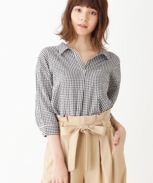 【WEB限定サイズあり】スキッパーオーバーシャツ