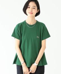 BEAMS BOY(ビームスボーイ)のLACOSTE / 別注 Aライン クルーネック Tシャツ(Tシャツ/カットソー)