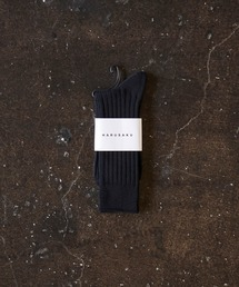 HARUSAKU(ハルサク)のHARUSAKU  Men's  PLAIN RIB SOCKS:ハルサク メンズ プレーン リブソックス(ソックス/靴下)