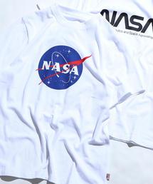 【メンズ】USAコットンNASAグラフィックプリントTシャツ
