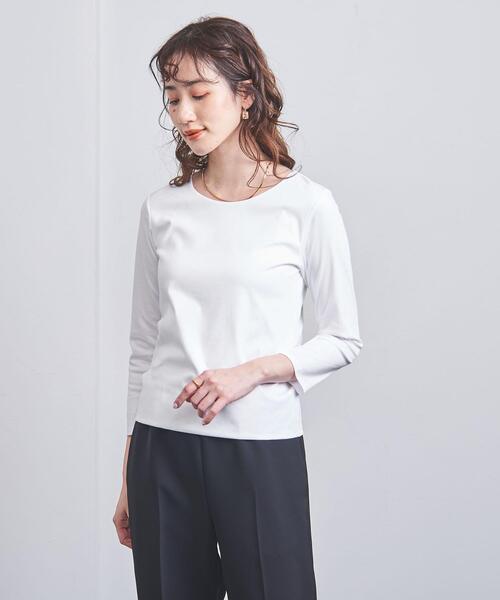 UBCB C DOUBLE 9分袖 Tシャツ