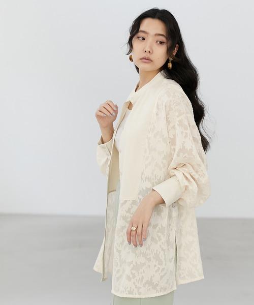 【EMMA】シアージャガードシャツ