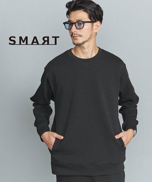 【WEB限定 WARDROBE SMART】 by ダブルニット クルーネック スウェット