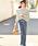 coca(コカ)の「ボーダーボートネックトップス(Tシャツ/カットソー)」|詳細画像