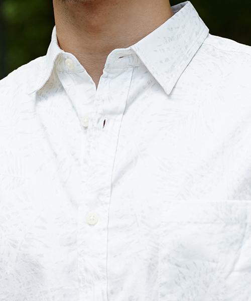 ボタニカル長袖シャツ