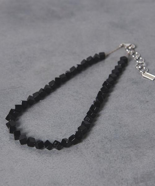 <petite robe noire(プティローブノアー)> スクエア ネックレス■■■