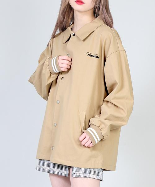 b6ad260cd308f DING(ディング)のDING attentionシャツジャケット(ブルゾン)