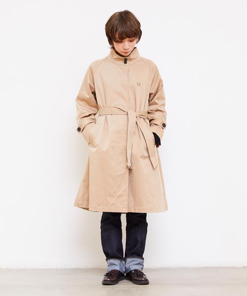 高質 Stand Collar FRED Coat(その他アウター)|FRED PERRY(フレッドペリー)のファッション通販, サンコー ホビー:ed15703d --- 888tattoo.eu.org
