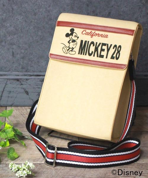 【Disney】ミッキー刺繍マザーズポーチ