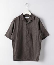 CM DOMINIQUE オープンカラー 半袖 シャツ