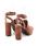 SNIDEL(スナイデル)の「【JJ 9月号掲載】サークルヒールストラップサンダル(サンダル)」|詳細画像