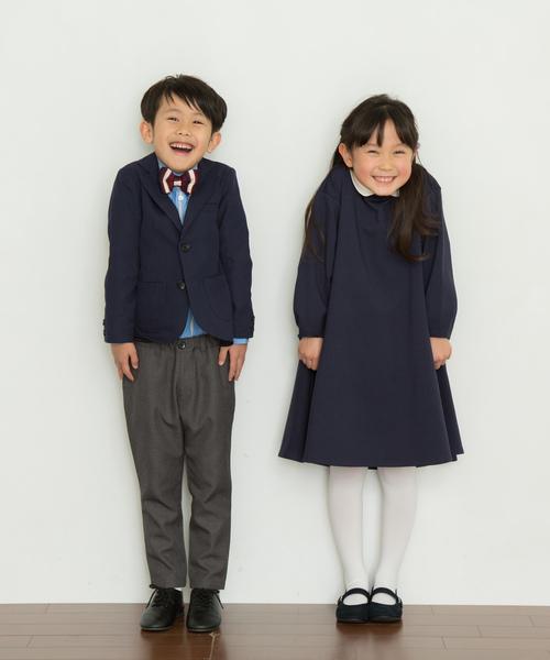 付け襟フレアワンピース(KIDS)