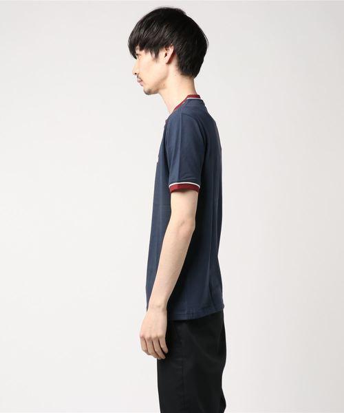 SS OLLIER パイピング Tシャツ