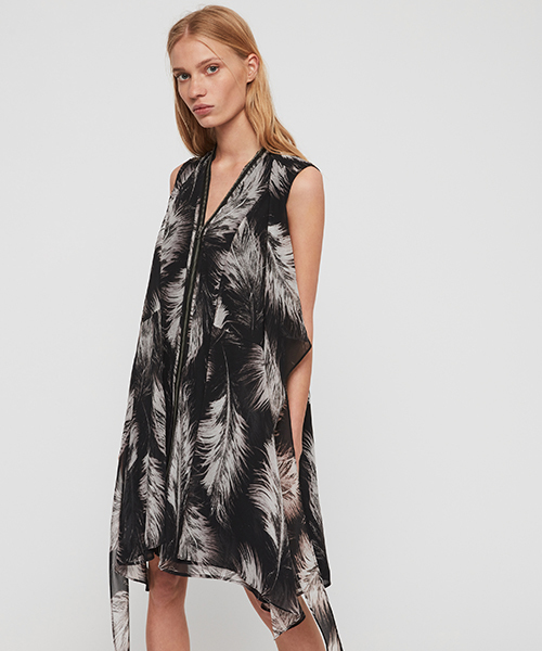 新作人気 JAYDA ALLSAINTS FEATHERS FEATHERS DRESS(ワンピース)|ALLSAINTS(オールセインツ)のファッション通販, ZAZA STORE:5656035b --- steuergraefe.de