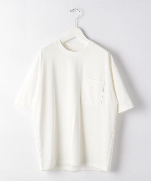 SC デオセル ポケット クルーネック 半袖 Tシャツ < 機能性生地 / 吸水速乾 ・ 消臭 >
