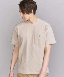 <DANTON (ダントン)> LOGO TEE/Tシャツ