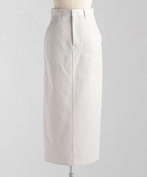 <LOEFF(ロエフ)> C/L カラーデニム タイトスカート