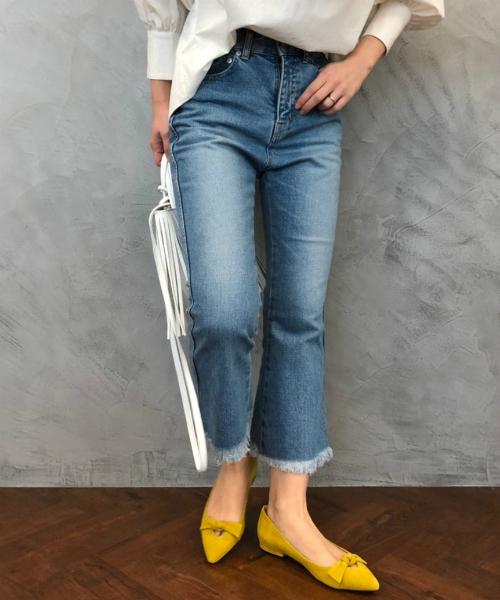2019人気No.1の 【セール】クロップドデニム(デニムパンツ) TOKYO,エトレ ETRE TOKYO(エトレトウキョウ)のファッション通販, ワールドサイクル:b4a5f20f --- innorec.de