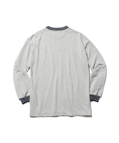 SUPER FAST DRYING URAKE / BIG SILHOUTTE LINNED NECK SWEAT SHIRT