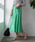 TIENS ecoute(ティアンエクート)の「エアリータックギャザースカート(スカート)」|詳細画像
