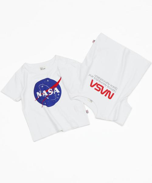 【coen キッズ / ジュニア】USAコットンNASAグラフィックプリントTシャツ