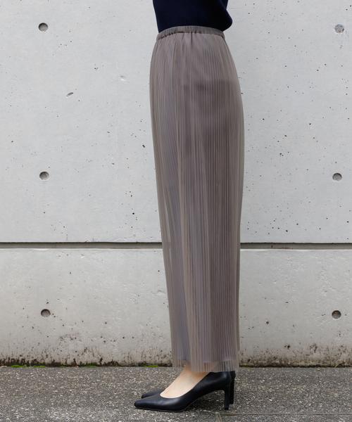 Liesse(リエス)の「チュールプリーツスカート(スカート)」|詳細画像
