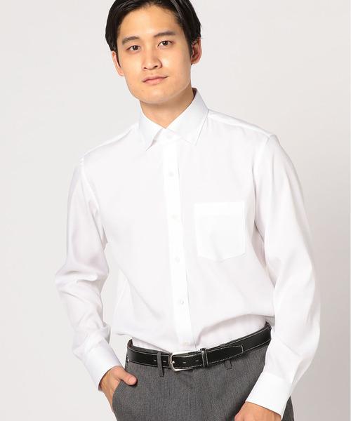 【EASYCARE】COOLMAXドビーシャツ