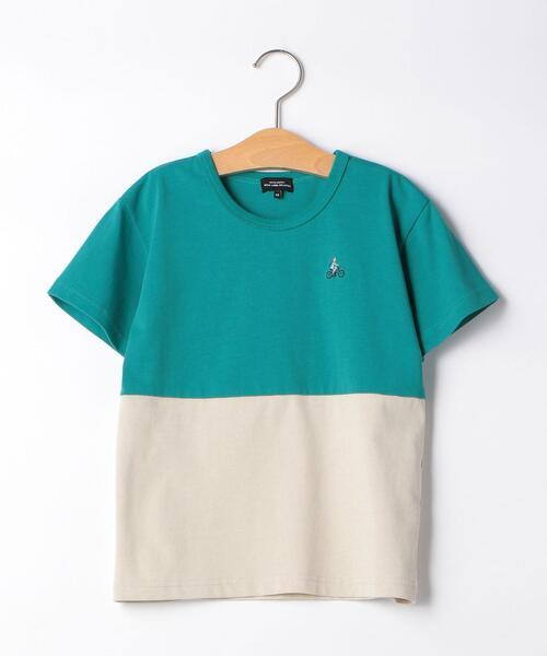 【キッズ】バイカラーTシャツ