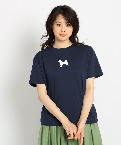 【洗える】アニマルモチーフTシャツ