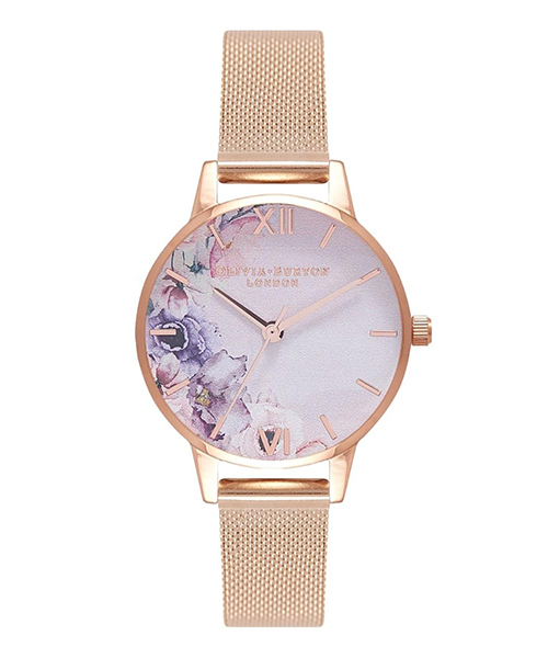 素晴らしい OLIVIA BURTON TIC オリビアバートン ウォーターカラー フローラル メッシュ(腕時計) OLIVIA BURTON(オリビアバートン)のファッション通販, 文房具屋さん本舗:e0b9d563 --- blog.buypower.ng