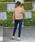 Social GIRL(ソーシャルガール)の「ハイウエストボタンストレッチデニムスキニーパンツ(デニムパンツ)」|詳細画像