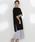 LAUTREAMONT(ロートレアモン)の「【WEB別注】セット企画  スリットワンピースとプリーツスカートのレイヤードスタイル(ワンピース)」 グレー