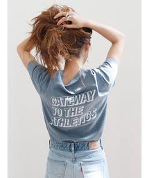 Ungrid(アングリッド)のバックロゴTee(Tシャツ/カットソー)
