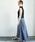 URBAN RESEARCH ROSSO WOMEN(アーバンリサーチ ロッソ)の「リネンデニムフレアースカート(デニムスカート)」|詳細画像