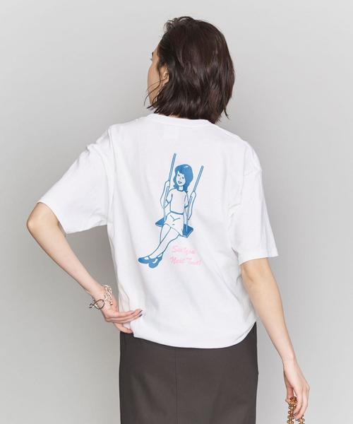<Glazed>GIRLプリントTシャツ