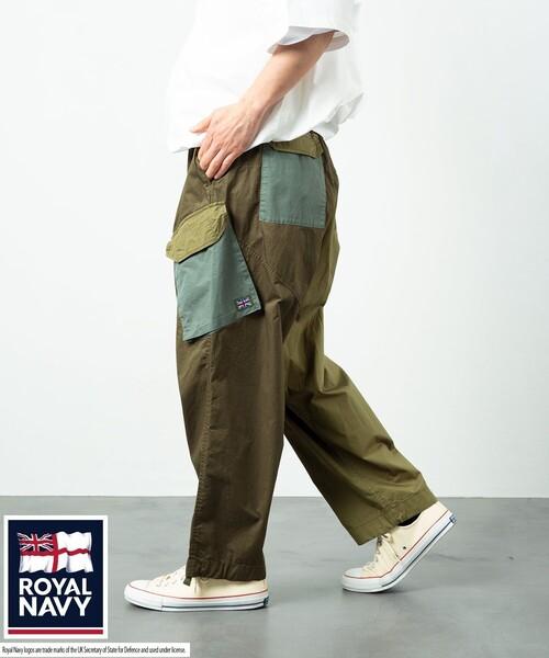 ROYAL NAVY/ロイヤル ネイビー COMBAT PANTS/コンバット パンツ/ミリタリー/カーゴパンツ