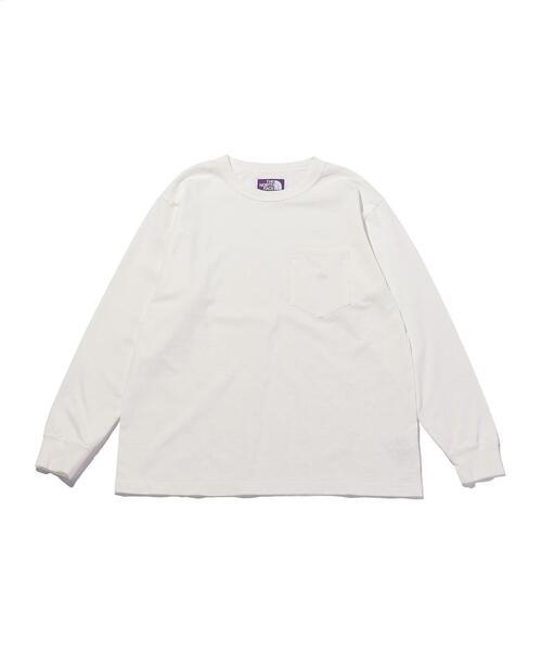 <THE NORTH FACE PURPLE LABEL> 7oz POC L/S TEE/Tシャツ