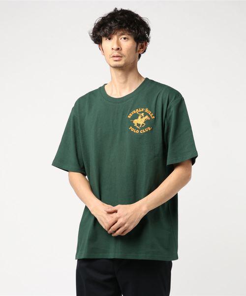 【BHPC】ロゴ刺繍Tシャツ