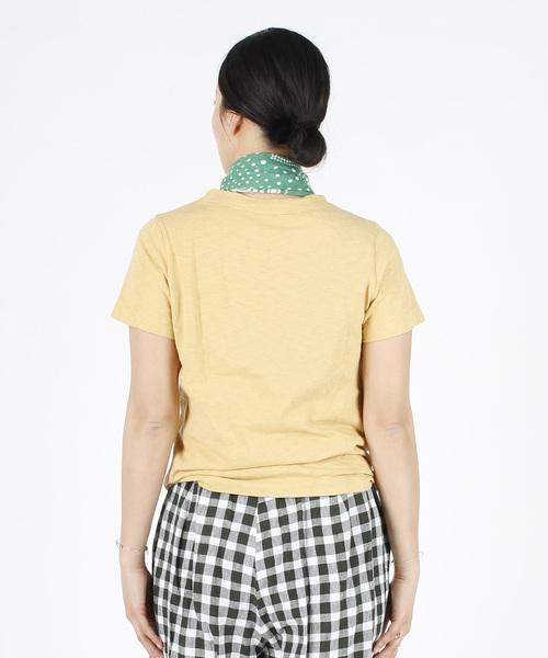 トカゲプリントの45星Tシャツ