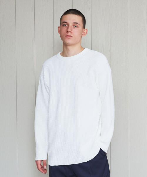 <H>HEAVY THERMAL PULLOVER/カットソー