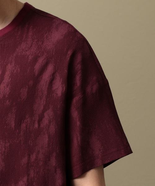 【LF】MEN クルーネックコンビネーションTシャツ