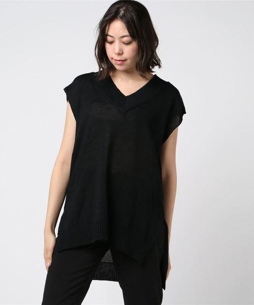 安い購入 V ネックベスト(ベスト)|mizuiroind(ミズイロインド)のファッション通販, OBLIGE【オブリージュ】:66c115f9 --- 888tattoo.eu.org